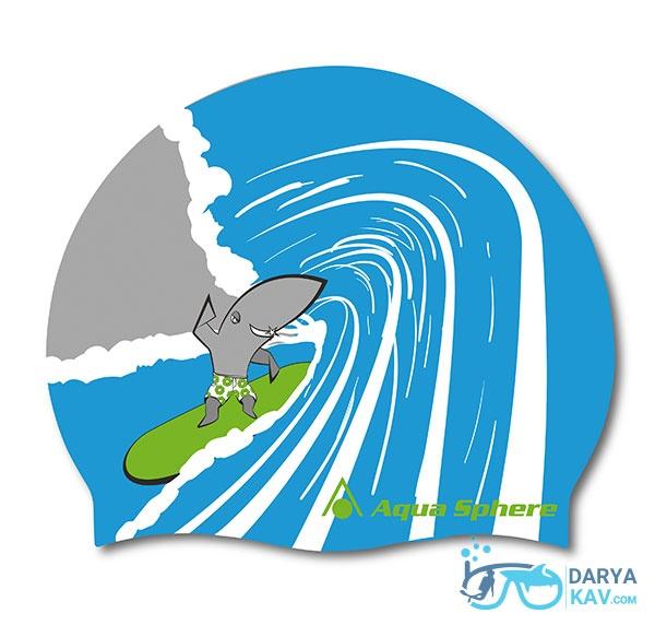 کلاه شنا آکوا اسفیر مدل Surf Shark