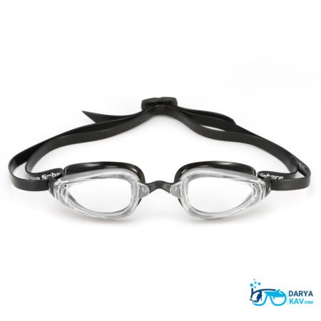 عینک شنا لنز شفاف Aqua Sphere MP k180