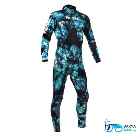 لباس غواصی استتار SEAC BODY FIT CAMO 1.5 MM