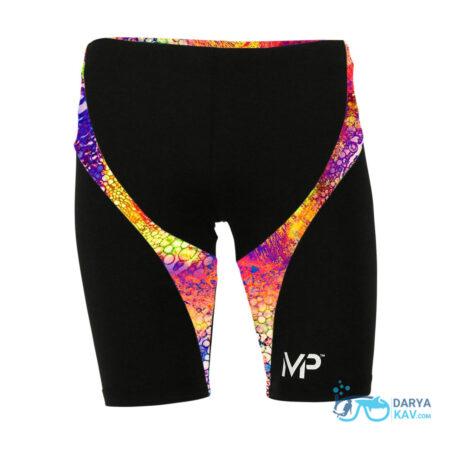 جمر تمرینی شنا مردانه مدل Kiraly Jammer Multicolor Black