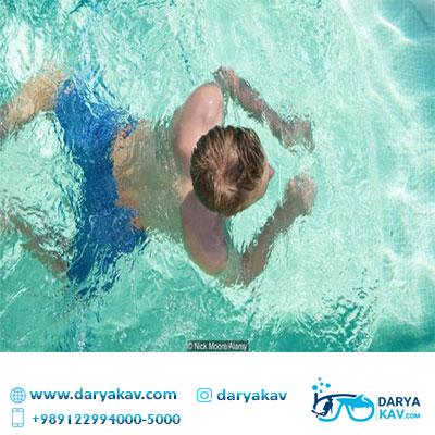 آموزش شنا قورباغه - دریاکاو