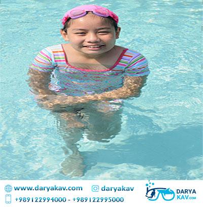 آموزش شنا کودکان دریا کاو