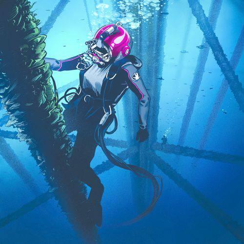 تاپ بازی غواص زیر آب