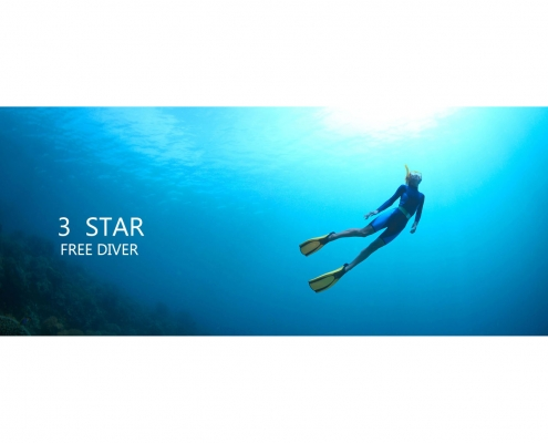 آموزش غواصی سه ستاره