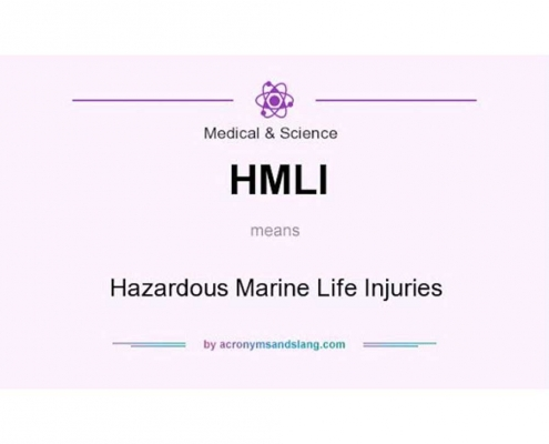 HMLI: صدمات ناشی از موجودات دریایی