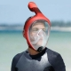 آیا ماسک اسنوکل full face خطرناک است؟